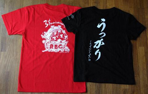 CGFMのTシャツ