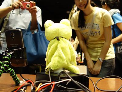 栗本さんのカエル