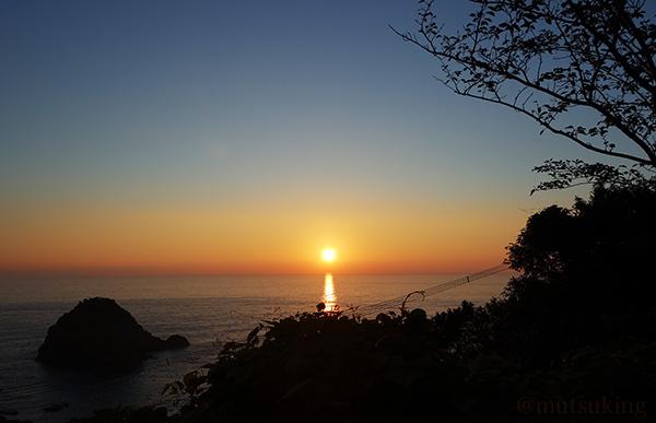 天草の夕日
