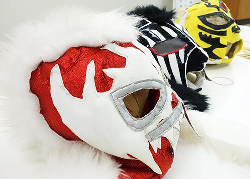 つくると!プレゼンテーション:白虎 氏が制作したマスク